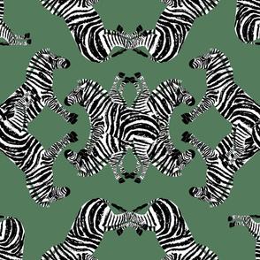 Zebraba Aged Green