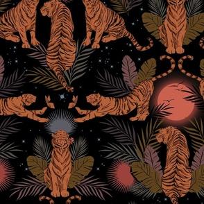 Nighttime Tigers in the Wild