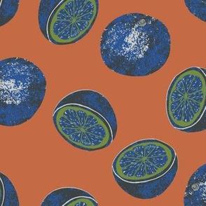 Oranges color way 4
