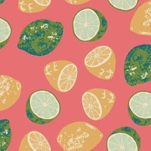 Lemons & Limes color way 2