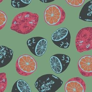 Lemons & Limes color way 4