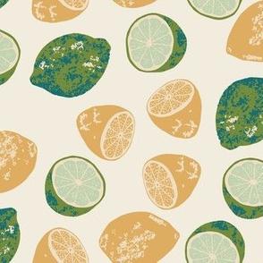 Lemons & Limes color way 1