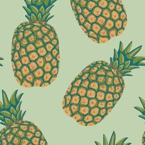 Pineapples color way 1