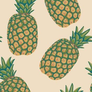 Pineapples color way 2