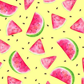 Watermelons Butter Yellow