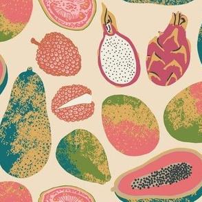 Tropical Fruit color way 4