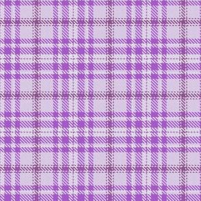 Monochrome Plaid in Purple