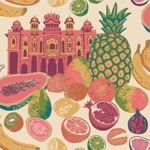 Journey To Jaipur Palace Fruit color way 1