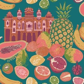 Journey To Jaipur Palace Fruit color way 2