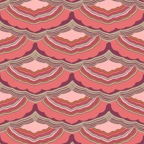 Journey To Jaipur Scalloped Stripes color way 2
