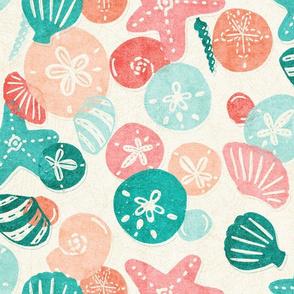 Seashells on the Beach v2