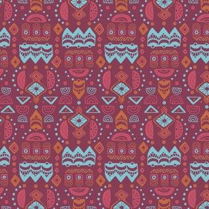 Journey To Jaipur Graphic Shapes color way 1