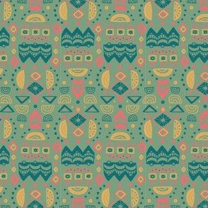 Journey To Jaipur Graphic Shapes color way 2