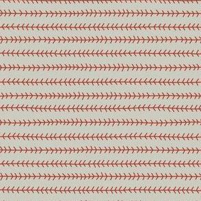 Baseball Laces Coordinate | Tan