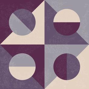 Italian Tiles Purple