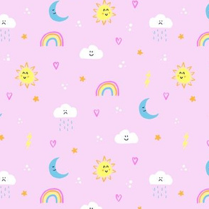 Happy Weather (Pink)