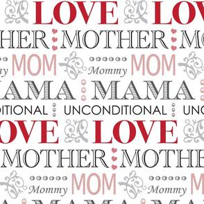 Mother's Love Vintage Pattern