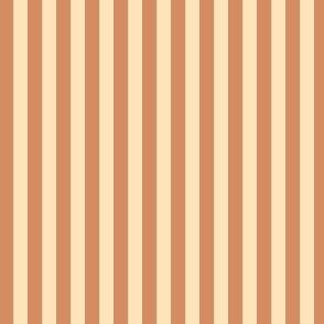 """Cream and Caramel 1/4"""" Stripes SPSQFall21"""