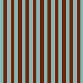 Teal and Brown Stripes SPSQFall21