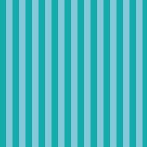 Midnight Tropical blue stripes