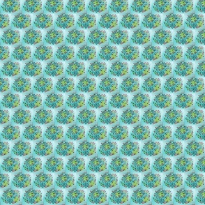 Dots on Aqua