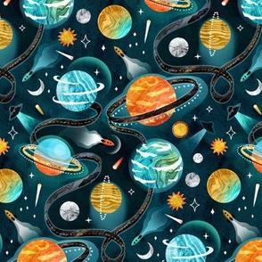Highway to Intergalactic Adventures - Medium Scale