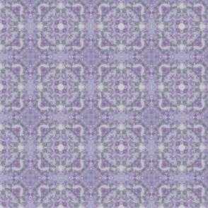 Purple and Grey Blossom