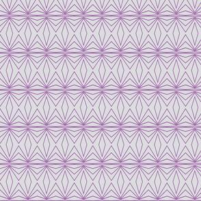 Geometric Grey and Purple