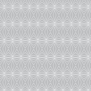 Geometric - Grey and White
