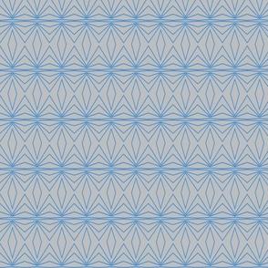 Geometric Grey and Blue
