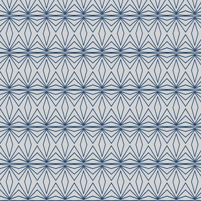 Geometric Grey and Dark Blue