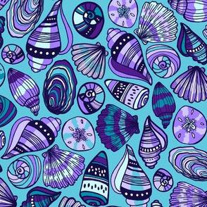 Sea Shell Beach (Purple)