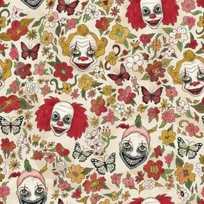 Evil Clown  Garden (small-scale)
