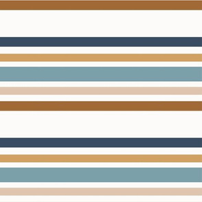 earthtone stripes