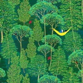 Final Emerald Forest 21x18 blk