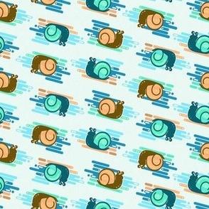 Sea Snails in Seashells