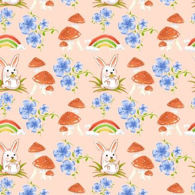 Rabbit and flower mush
