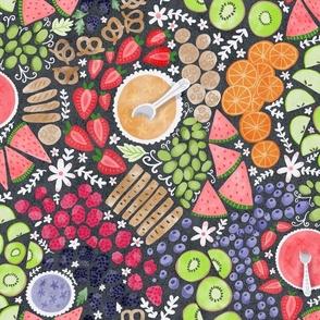 Rainbow Fruit Platter Board