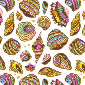 seashell houses