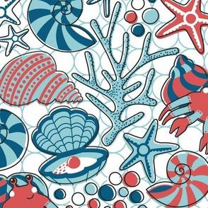 Hermit Crab Treasure Trove // WHITE // LARGE