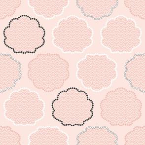 Black Pearl/Pink Pearl/ White Pearl
