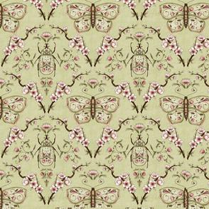Bellanora spring damask pattern small
