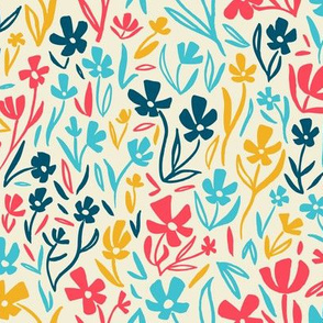 Sassy Field - Whimsical Painted Wildflowers Light