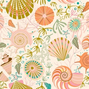 The Seashells Garabateo