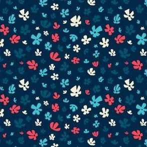 Sassy Field - Whimsical Painted Wildflowers Ditzy