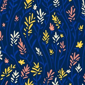 Indian Paintbrush - Wildflowers Dark