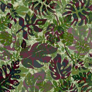 Big Leafy Jungle Green