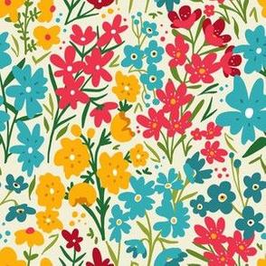 Flower Field -  Wildflower Multi-color