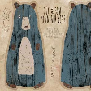 Mountain Bear Cut-and-Sew