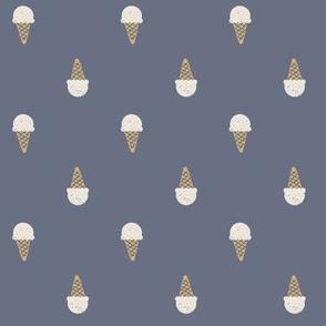 cozy cones vanilla ice cream cones medium